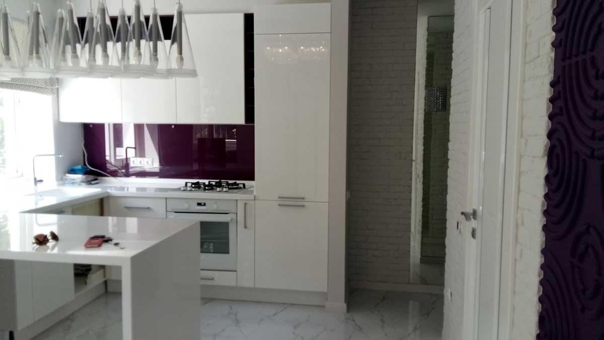 Интерьер двухкомнатной квартиры по ул. Роз
