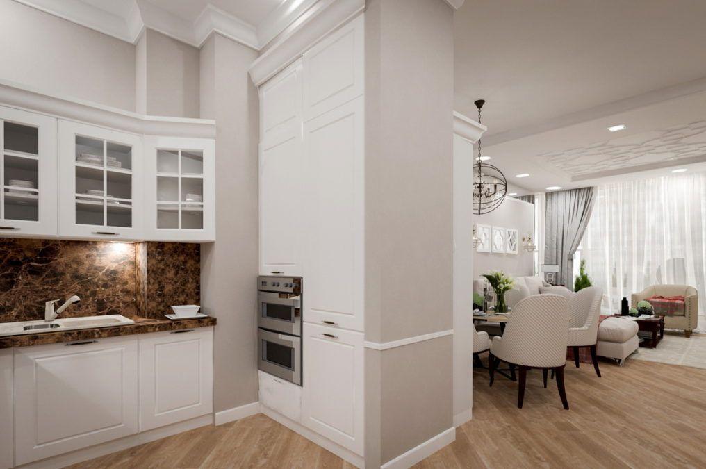Дизайн интерьера квартиры, ЖК Новая Александрия (Сочи)