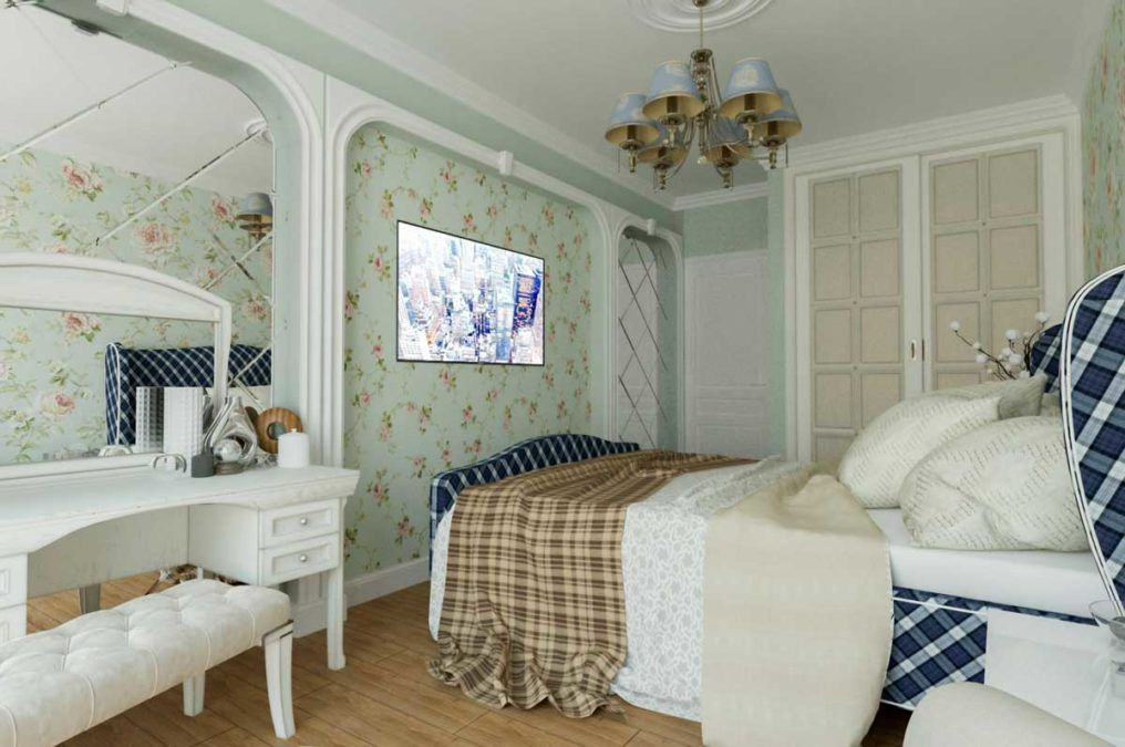Квартира в стиле прованс для большой семьи. ЖК Панорама Парк Сочи