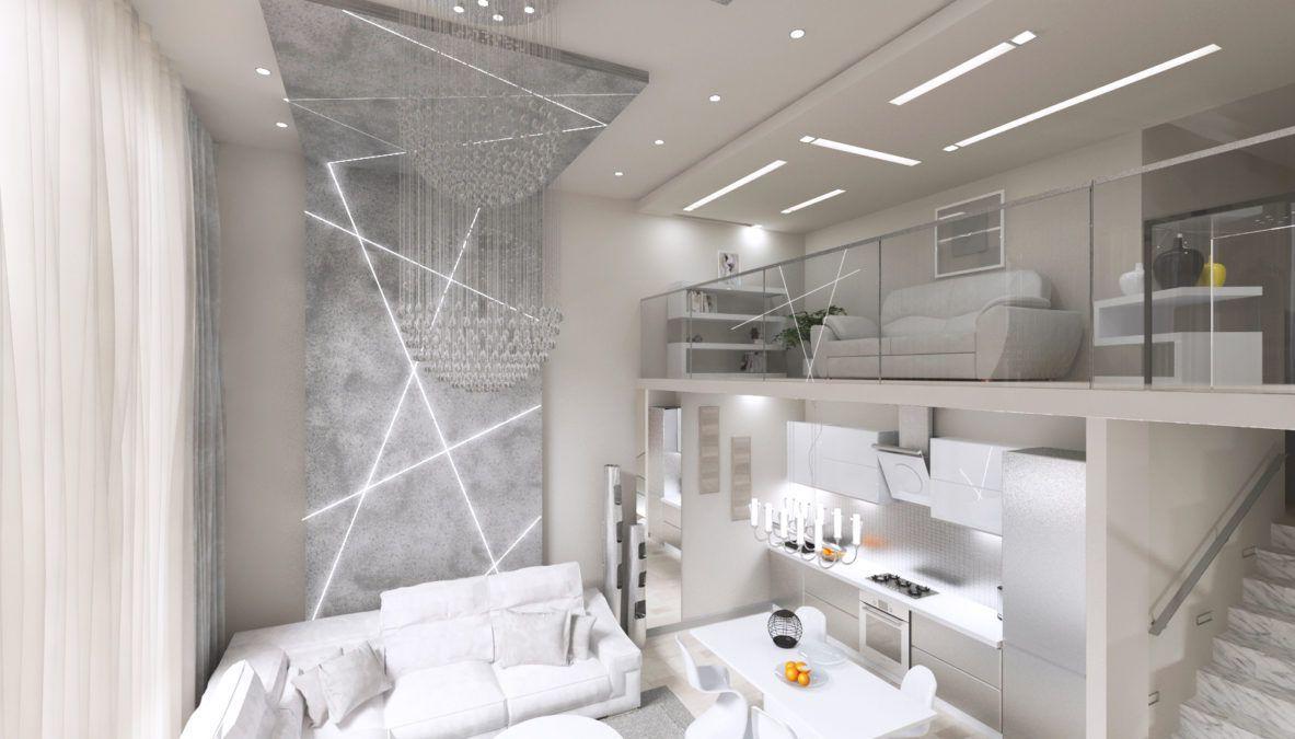 Дизайн интерьера квартиры, ЖК Идеал Хаус (Сочи)