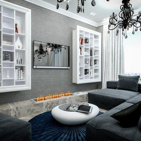 Дизайн интерьера квартиры, ЖК Королевский Парк (Сочи)