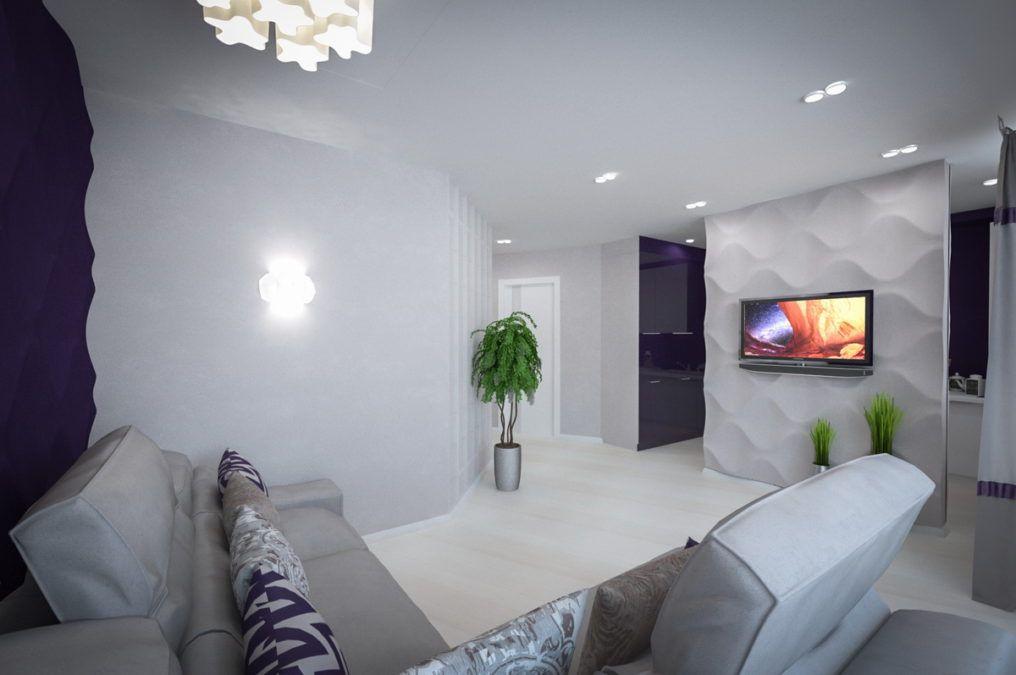Дизайн интерьера квартиры, ЖК Крокус (Сочи)