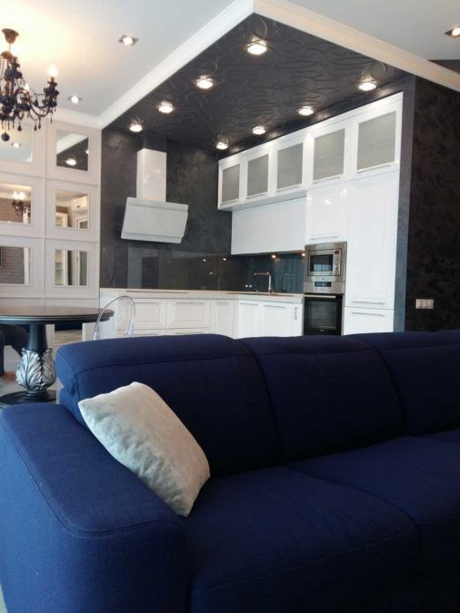Интерьер квартиры в ЖК Королевский Парк (Сочи)