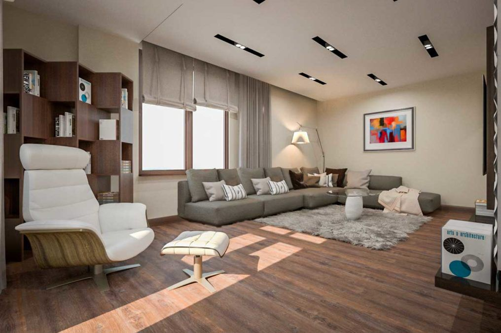 Эко-стиль в интерьере для московской квартиры